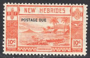 NEW HEBRIDES-BRITISH SCOTT J7