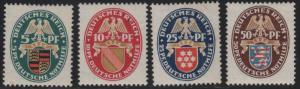 B15-B18 1926 Coats of Arms