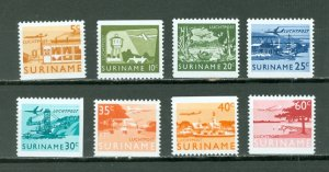 SURINAM AIR #C75-82...SET...MMH...$4.50