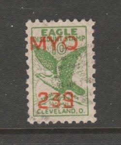 USA Store Stamps Cinderella stamp 6-2- no gum Cleveland Ohio
