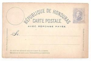 UU411 Honduras Blank Unused Postcard {samwells-covers}