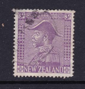 New Zealand a 3/- KGV used ??
