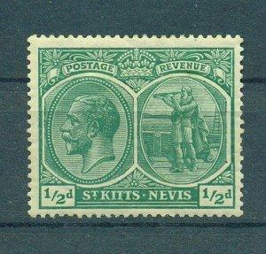 St. Kitts & Nevis sc# 24 (3) mh cat value $4.50