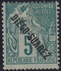 Diego Suarez 1892 SC 16 Mint
