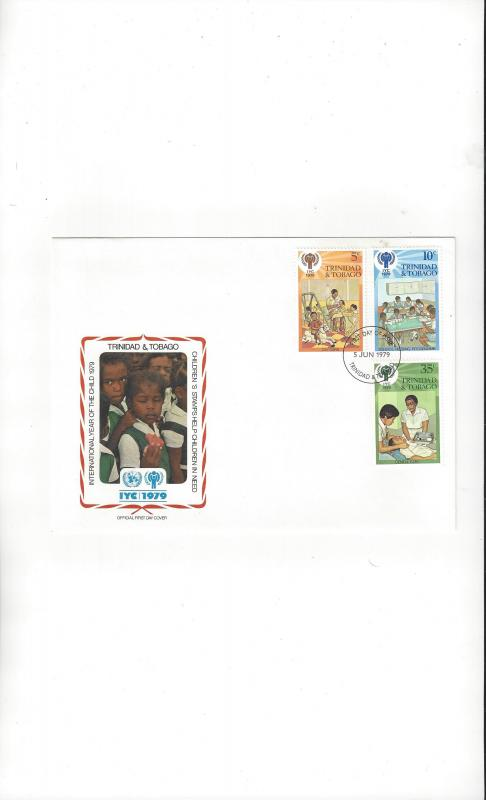 Trinidad & Tobago FDC International Year of the Child 1979 Official Cachet