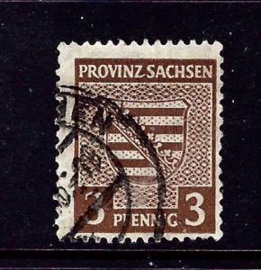 Germany-Saxony 13N2 Used 1946 Occupation Stamp