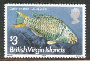 Virgin Islands Scott 299, SG 345 MNH** 1975 key fish stamp