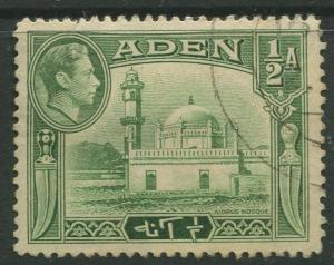 STAMP STATION PERTH Aden #16 KGVI Definitive Issue 1939 Used CV$0.50.