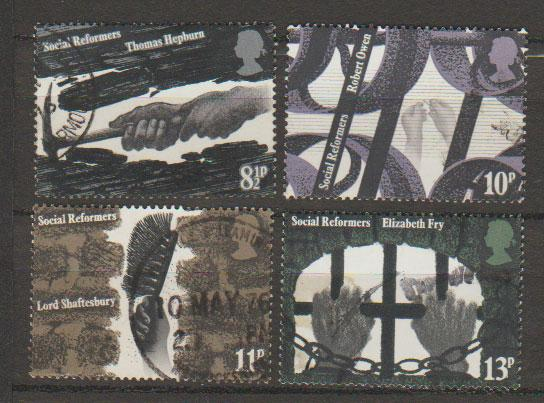 Great Britain SG 1001 - 1004 set Used