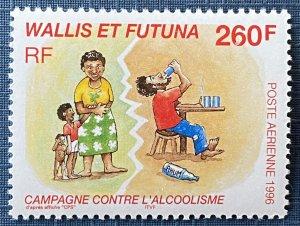 Wallis and Futuna Islands C193 MNH Campaign to Control Alcoholism (SCV $6.00)