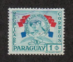 Paraguay Scott #516 Used
