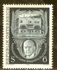 Austria; 1978: Sc. # 1084: **/MNH Cpl. Set