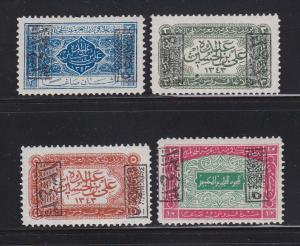 Saudi Arabia King Ali L165-L168 MHR (A)