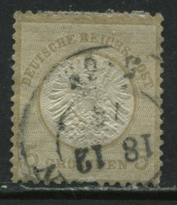 Germany 1872 5 groschen used