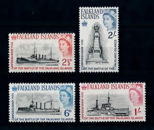 [71959] Falkland Islands 1964 Battle Ships  MNH