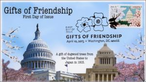 2015, Gifts of Friendship, Tokyo National Diet Building , US Capital Dome, BW