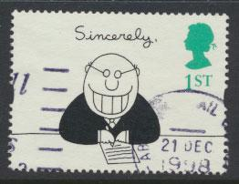 Great Britain SG 1906  Used  - Greetings Booklet - Cartoons