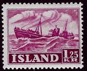 Iceland SC#265 Mint F-VF SCV$25.00...Worth a Close Look!