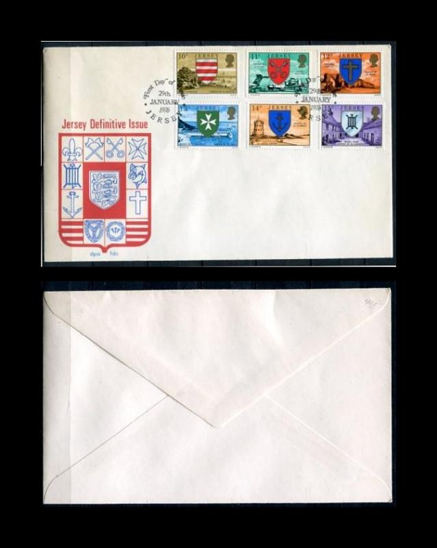 USA 1976 FDC Jersey Definitive issue