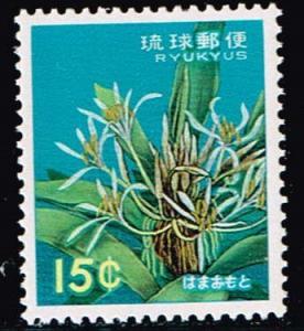 Ryuku Islands # 114  MNH