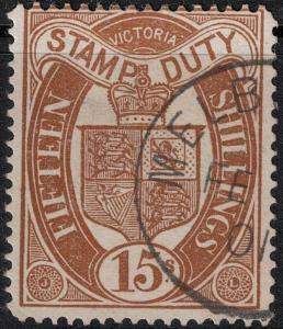 Victoria 1879-1896 SC AR47 Used  $140