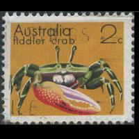 AUSTRALIA 1973 - Scott# 555 Fiddler Crab 2c Used