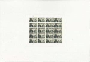 US Stamps Sheet/Postage Sct #4445 Bill Maudlin-cartoonist MNH F-VF OG  FV 8.80