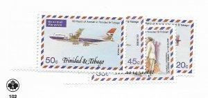 Trinidad & Tobago #268-271 MH - Stamp - CAT VALUE $2.75