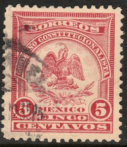 MEXICO 389, 5c DENVER ISSUE. USED. F-VF. (509)
