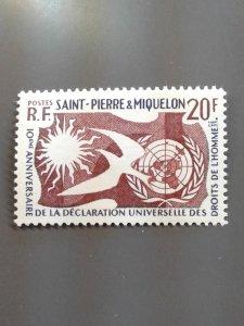 St. Pierre & Miquelon 356 VF MNH. Scott $ 3.50