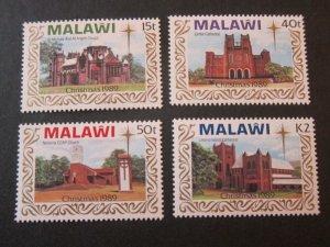 Malawi 1989 Sc 558-61 Christmas Religion set MNH