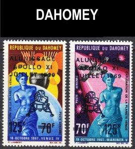Dahomey Scott C103-04 complete set F to VF mint OG NH.