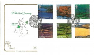 A British Journey Northern Ireland 2004 Cotswold Covers First Day Cover W110