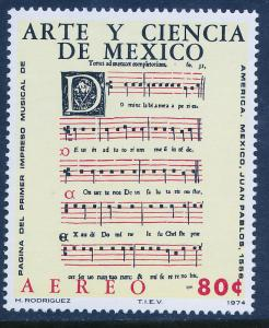 MEXICO C440, Art & Science (Series 4) Musicians. MINT, NH. VF.