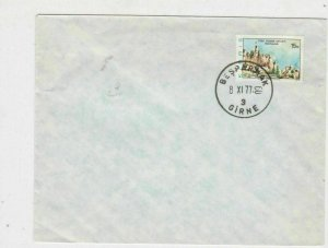 cyprus 1977 ankara building stamps cover ref 21185