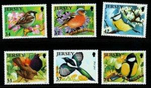 JERSEY SG1311/6 2007 BIRDS MNH