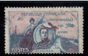 France 1920 Air Mail Guynemer Label , Etiquette , Fine used - I Combine S/H