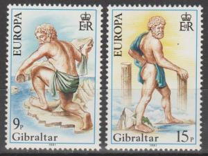 Gibraltar #400-01  MNH F-VF  Wholesale Closeout (ST2024L)