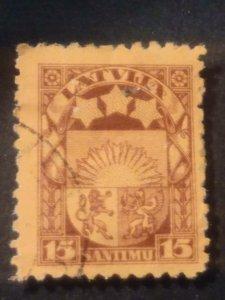 Latvia used F