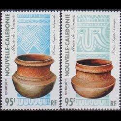 NEW CALEDONIA 1997 - Scott# C286-7 Pottery Set of 2 NH