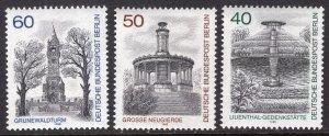 GERMANY SCOTT 9N457-9N459