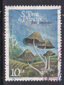St. Thomas and Prince Islands #771 F-VF Used Mushrooms