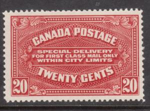 Canada #E2a Very Fine Never Hinged **With Certificate**