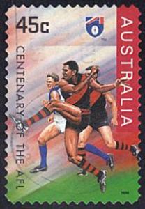 Australia # 1521 used ~ 45¢ Aust. Football - Essendon