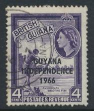 Guyana Independence 1966 SG 387 Used / Fine Used