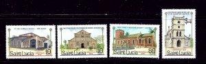 St Lucia 867-70 MNH 1986 Christmas