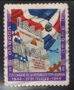 Dominican Republic Scott C46 Used stamp