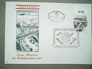 FDC  Austria   #661   May 29, 1961