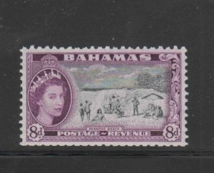 BAHAMAS #166  1978  2p  QEII & PARIDISE BEACH   MINT VF NH  O.G  aa
