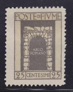 Fiume 176 Roman Arch 1923